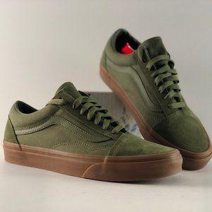 Vans Old Skool Suede Canvas Moss/Gum Sneakers
